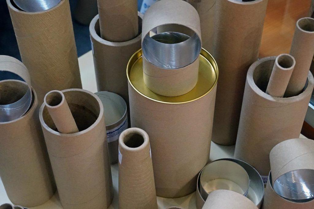 производство картонный втулок